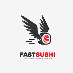 Fast sushi logo