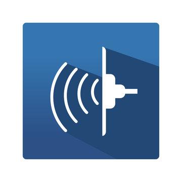 industrial ultrasonic icon