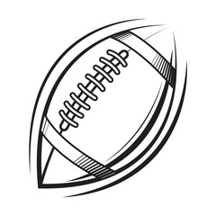 American Football logo vector icon