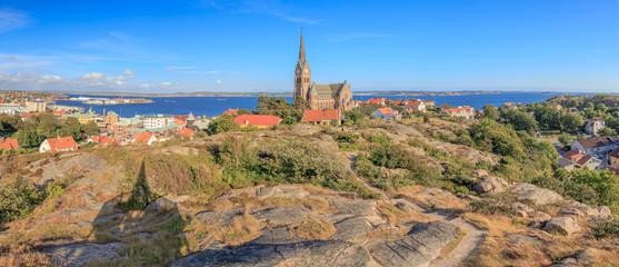Panorama Aussicht auf Lysekil