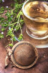 Healing herbal Oregano tea