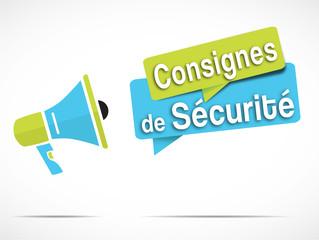 mégaphone : Consignes de sécurité