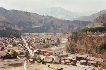 Scenery in Shirakawago