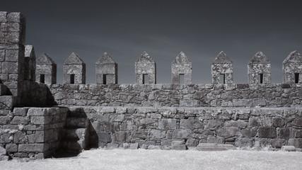 Keuken foto achterwand Kasteel Inside of a medieval castle