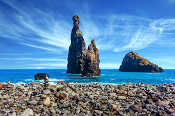 Volcanic Madeira in the Atlantic Ocean