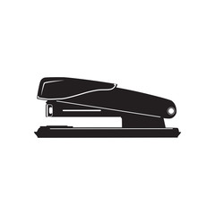 Stapler vector icon in flat style