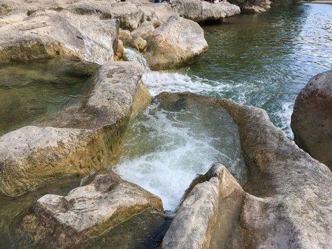 Sculpture Falls Barton Creek Austin Texas