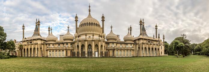 Panorama of Brighton pavilion, England Wall mural