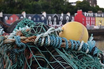 village de pêcheurs écossais