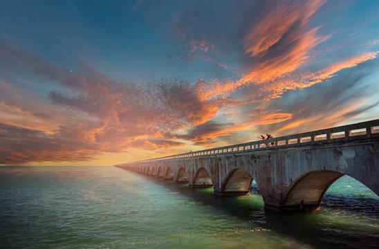 seven Miles Bridge, Florida Keys