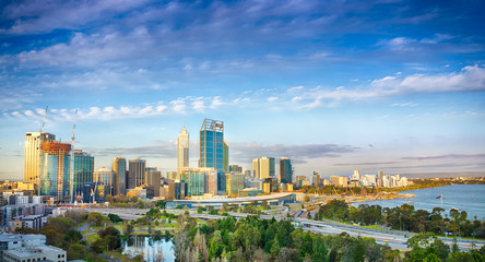 Skyline from Perth