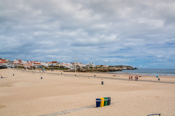 Baleal beach in Baleal, Portugal.