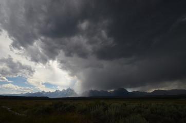 Storm over the Grand Teton