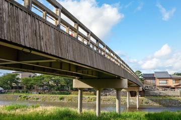 古都金沢 浅野川に架かる梅ノ橋