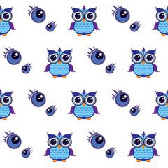 pattern owl graphic cartoon emotion