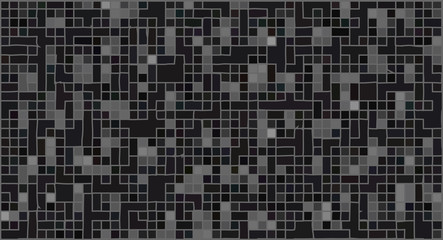 Abstract black geometric texture