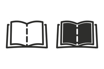 Book vector icon.