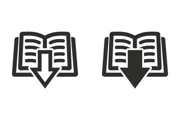 Add book vector icon.