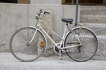 Old Bike in Street, Bologna