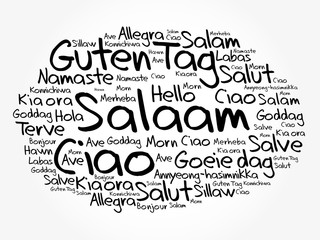 Salaam hello greeting in persianfarsi word cloud in different category m4hsunfo