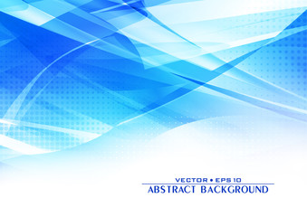 Abstract blue background with lighting effect. Cover design template layout for corporate business book, booklet, brochure, flyer, poster. Vector