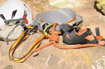 Kletterausrüstung Essen : Kletterausrüstung stockfotos bilder alamy