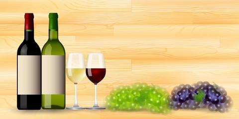 ワイン グラス 木目 背景