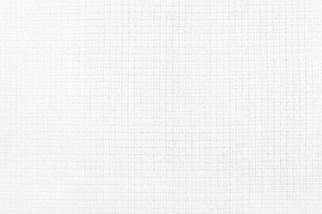 White checkered material background. Checkered texture pattern top view.