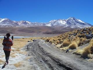 bolivie uyunie montagne lac désert sauvage aride