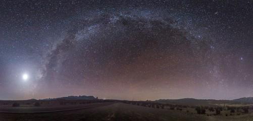 Milky Way Panormama - Big Bend National Park