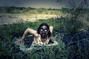 Evil Zombie Monster