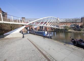 Castlefield Basin & Merchant's Bridge