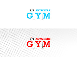 Gym Logotype Design Concept