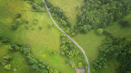 Foto op Aluminium Luchtfoto Aerial landscape