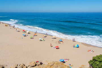 Sao Juliao beach in Ericeira, Portugal.