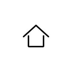 homepage home house line black icon