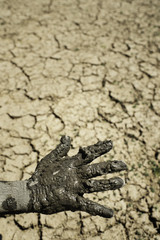 Dry Earth Global Warming