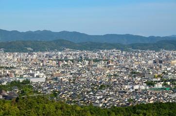 京都 成就山展望台からの眺め