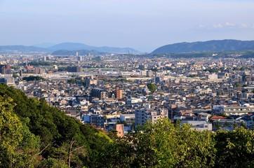 京都 雙ケ岡からの眺め(京都市)