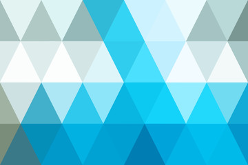 abstract triangles blue tone gradient for background. geometric style