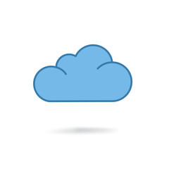 cloud modern icon
