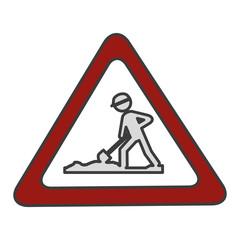 traffic signal Road under construction