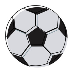 soccer ball for football sports game equipment object