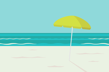 Summer beach calmful graphic background