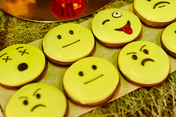 delicious shortbread with smiles