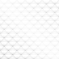 Japanese background vector. Gray geometric pattern. Triangle shape, Line.