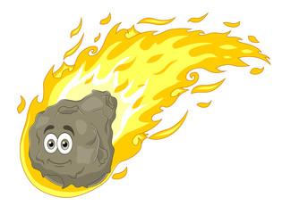 Cartoon comet