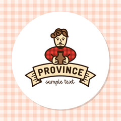 Vector Province Natural Logo Template
