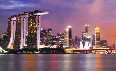 Quartier des affaires, Singapour,