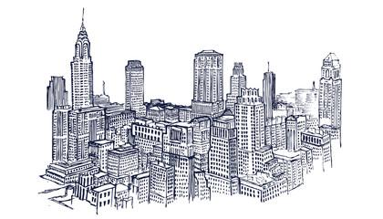 New York sketch